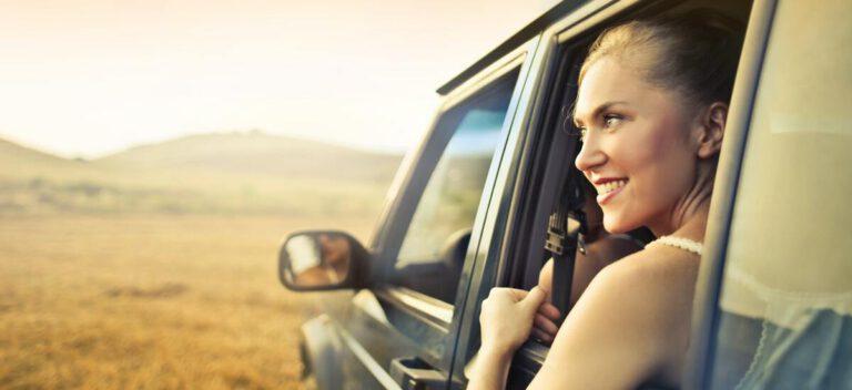viaggiare in auto durante un tour